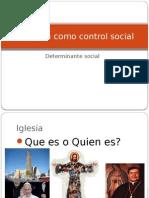 La Iglesia Como Control Social
