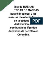 Guias de Buenas Practicas Biodiesel