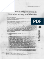 La estructura productiva de Nicaragua