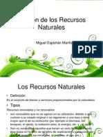 SESIÓN III_MIGUEL ESPICHÁN_Gestión de Los Recursos Naturales2