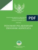 Permen 05 Tahun 2013_tentang Pedoman Pelaksanaan Program Adiwiyata