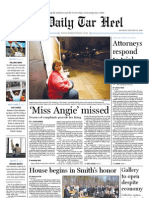 The Daily Tar Heel for Jan. 25, 2010