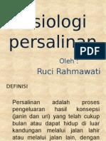 Fisiologi persalinan