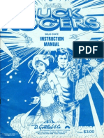 Buck Rogers - Gottlieb Manual