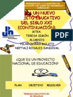 HACIA UN NUEVO PROYECTO EDUCATIVO DEL SIGLO XXI
