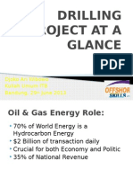 2 Drilling Project at a Glance