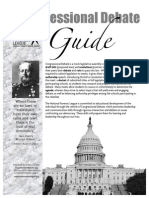 Congressional Debate Guide 2012-10-01