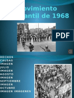 Movimiento Estudiantil de 1968