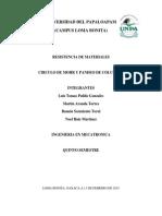 CIRCULO DE MOHR Y PANDEO DE COLUMNAS