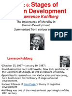 Psyc06_Stages of Human Devt by Kohlberg
