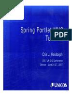 Spring Portlet