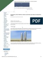 Moderno Sistema en Fachadas Que Reduce La Temperatura Interior - Noticias de Arquitectura - Buscador de Arquitectura