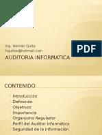 Auditoria Informatica Funciones Perfil y Seguridad