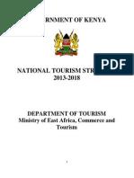 Kenya National Tourism Srategy 2013_2018