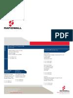 properties of gypcrete walls