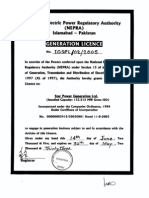 Licenses Issued by NEPRA to Independent Power Producers of Pakistan