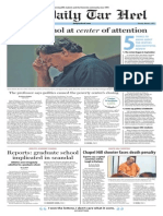 The Daily Tar Heel for March 3, 2015