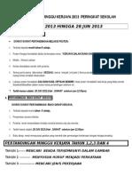 Flyer-pertandingan Minggu Kerjaya 2013