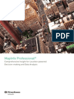 Mapinfo Professional Brochure