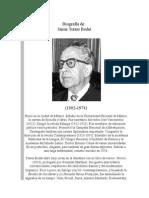 Biografía de Jaime Torres Bodet