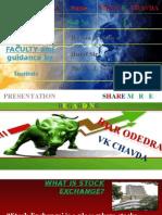 Presentation on Share Market by Ar Odedra