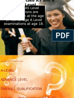 Meaning of as & a Level