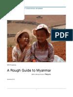 myanmar rough guide