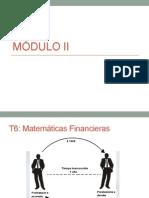 MÓDULO II Finanzas
