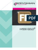 FP200 FR Gold Flex Cable.pdf - Prysmian FP200 Gold&Flex