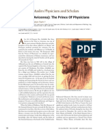 Ibn Sina (Avicenna). the Prince of Physicians