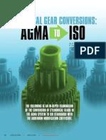 Gear Adendum Modification Coefficient