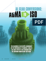 Gear Adendum Modification Coefficient