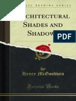 Architectural Shades and Shadows 1000197809