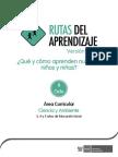 Fascículo Rutas del Aprendizaje 2015  Nivel de Educación Inicial  II ciclo
