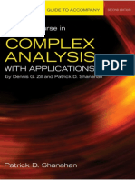 A First Course in Complex Analysis With Applications_nodrm