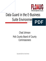 Data Guard in Thee Business Environment 1291055004