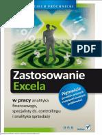 Zastosowanie Excela w Pracy Analityka Finansowego Specjalisty Ds Controllingu i Analityka Sprzedaz Wojciech Prochnicki