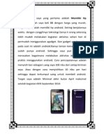 Contoh Dream Book Kewirausahaan