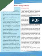 SPI100 - Verilog SPI IP Core