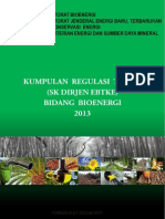 Technical Regulations Book Bioenergi