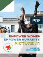 Empowering Women-Empowering Humanity