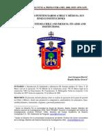Dos Sistemas Penitenciarios Chile y Mexico. Sus Fines e Instituciones
