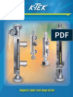 Magnetic Liquid Level Gauge Brochure