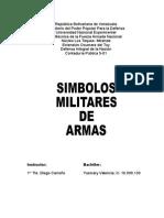 Simbolos Militares de Armas