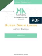 Instructiuni Super Drum Loops