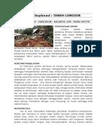 Teks Ekplanasi Tanah Longsor