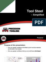 Tool steels simplified