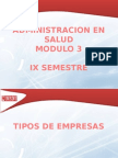 Admin Salud Modulo 3