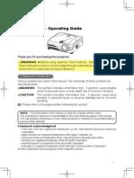 Hitachi Cp-x445 Users Manual