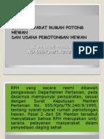 Presentasi SK Mentan No. 555 Thn 1986